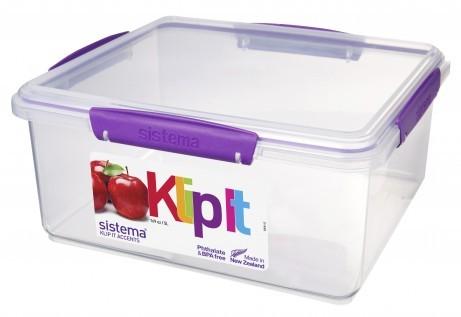 Δοχείο Τροφίμων Μωβ 5L BPA Free, SISTEMA home   αξεσουαρ κουζινας   δοχεία τροφίμων   βάζα αποθήκευσης