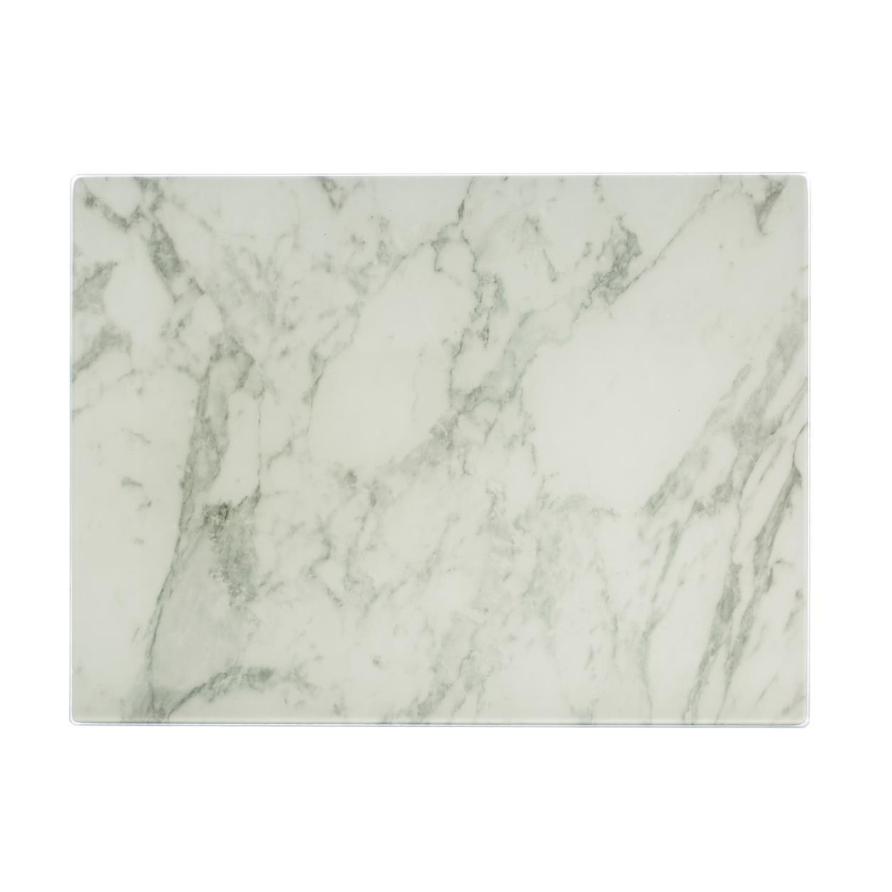 Επιφάνεια κοπής Marble Γυάλινη 40cm x 30cm Typhoon home   αξεσουαρ κουζινας   επιφάνειες κοπής