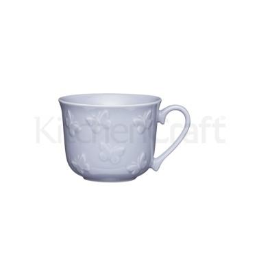 Κούπα Πρωινού Πεταλούδες Kitchencraft 400ml home   ειδη cafe τσαϊ   κούπες   φλυτζάνια