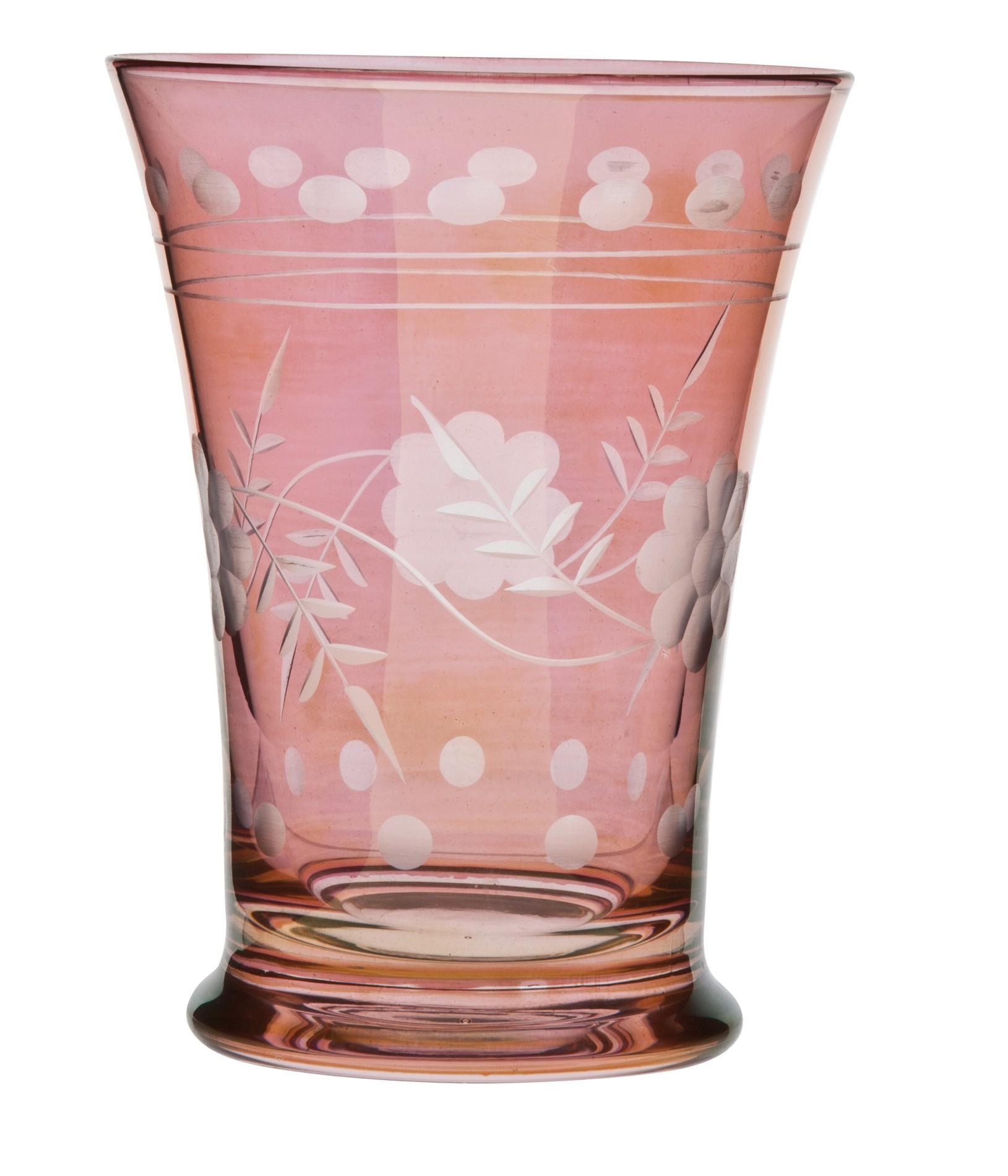 Ποτήρι Κρασιού Shine Σετ 6Τμχ Ροζ 200ml Ionia home   ειδη σερβιρισματος   ποτήρια