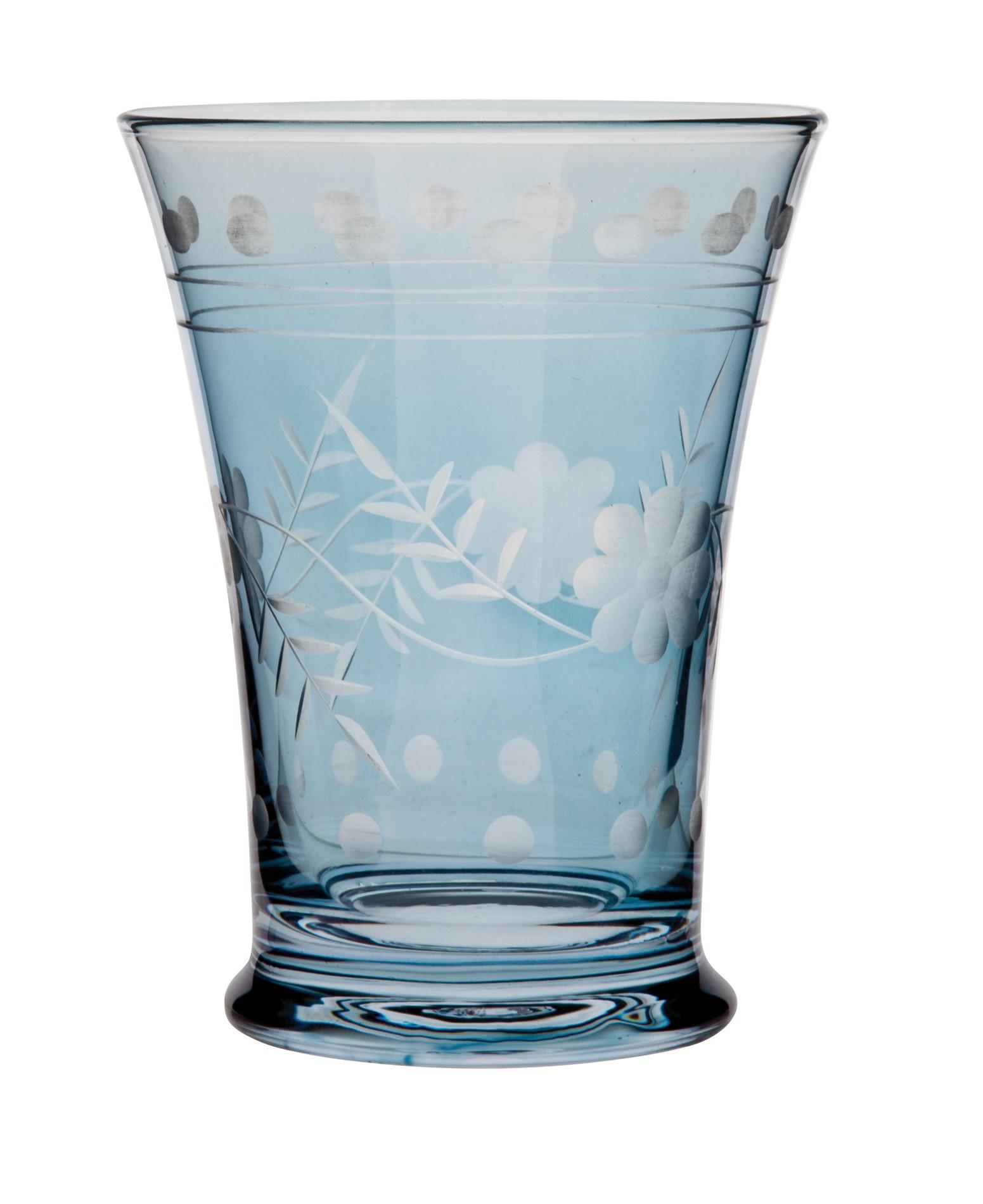 Ποτήρι Κρασιού Shine Σετ 6Τμχ Μπλε 200ml Ionia home   ειδη σερβιρισματος   ποτήρια