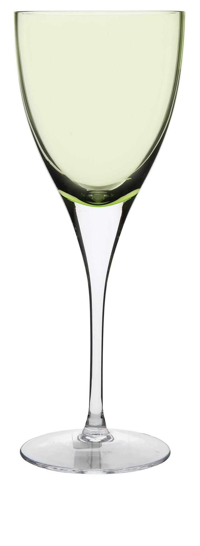 Ποτήρι Κρασιού Paradise Σετ 6Τμχ Πράσινο 190ml Ionia home   ειδη σερβιρισματος   ποτήρια