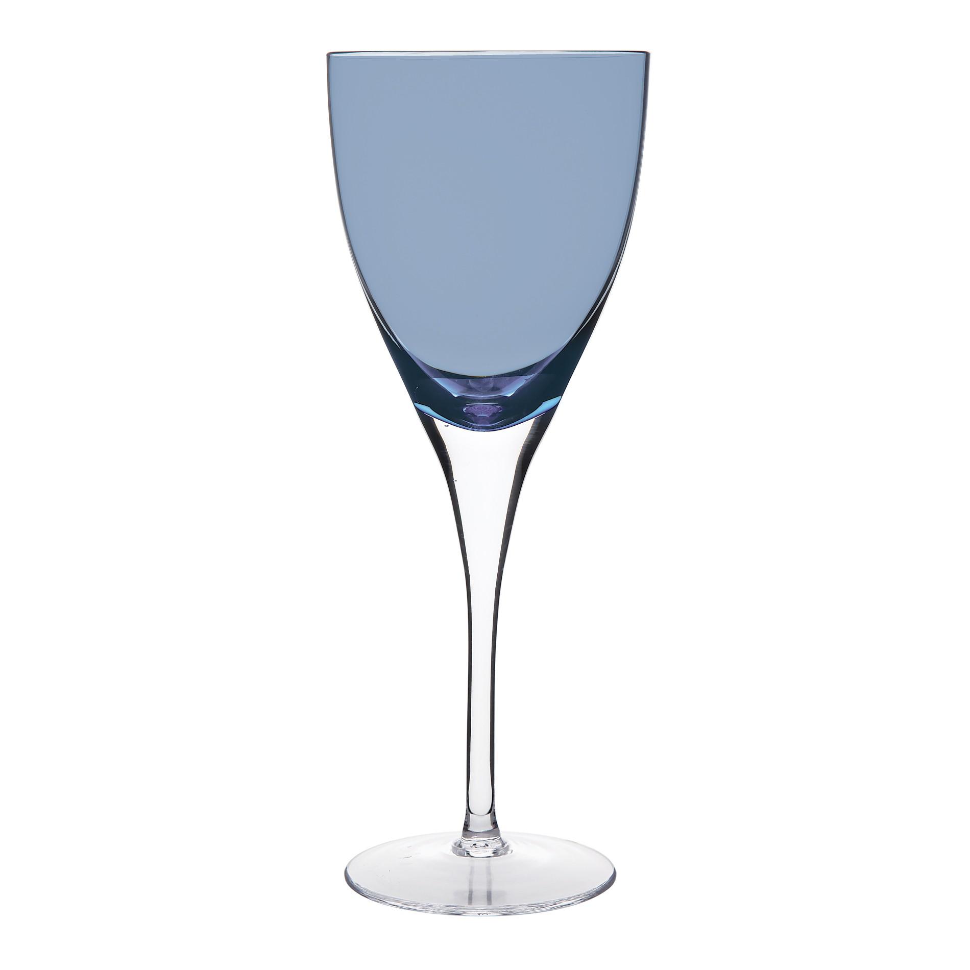 Ποτήρι Κρασιού Paradise Σετ 6Τμχ Μπλε 190ml Ionia home   ειδη σερβιρισματος   ποτήρια