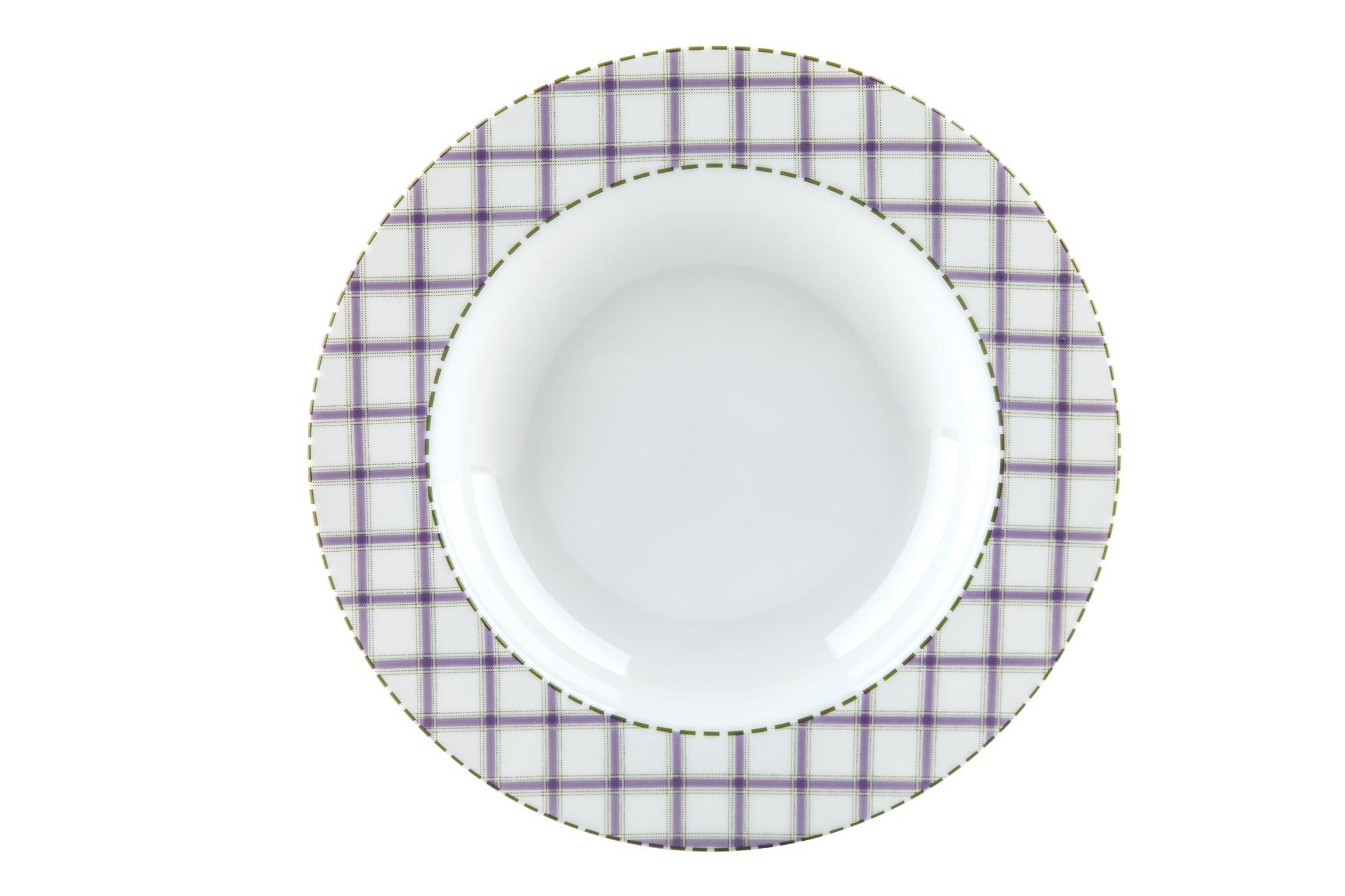 Πιάτο Βαθύ Σετ 6Τμχ Patchwork 23cm Ionia home   ειδη σερβιρισματος   πιάτα