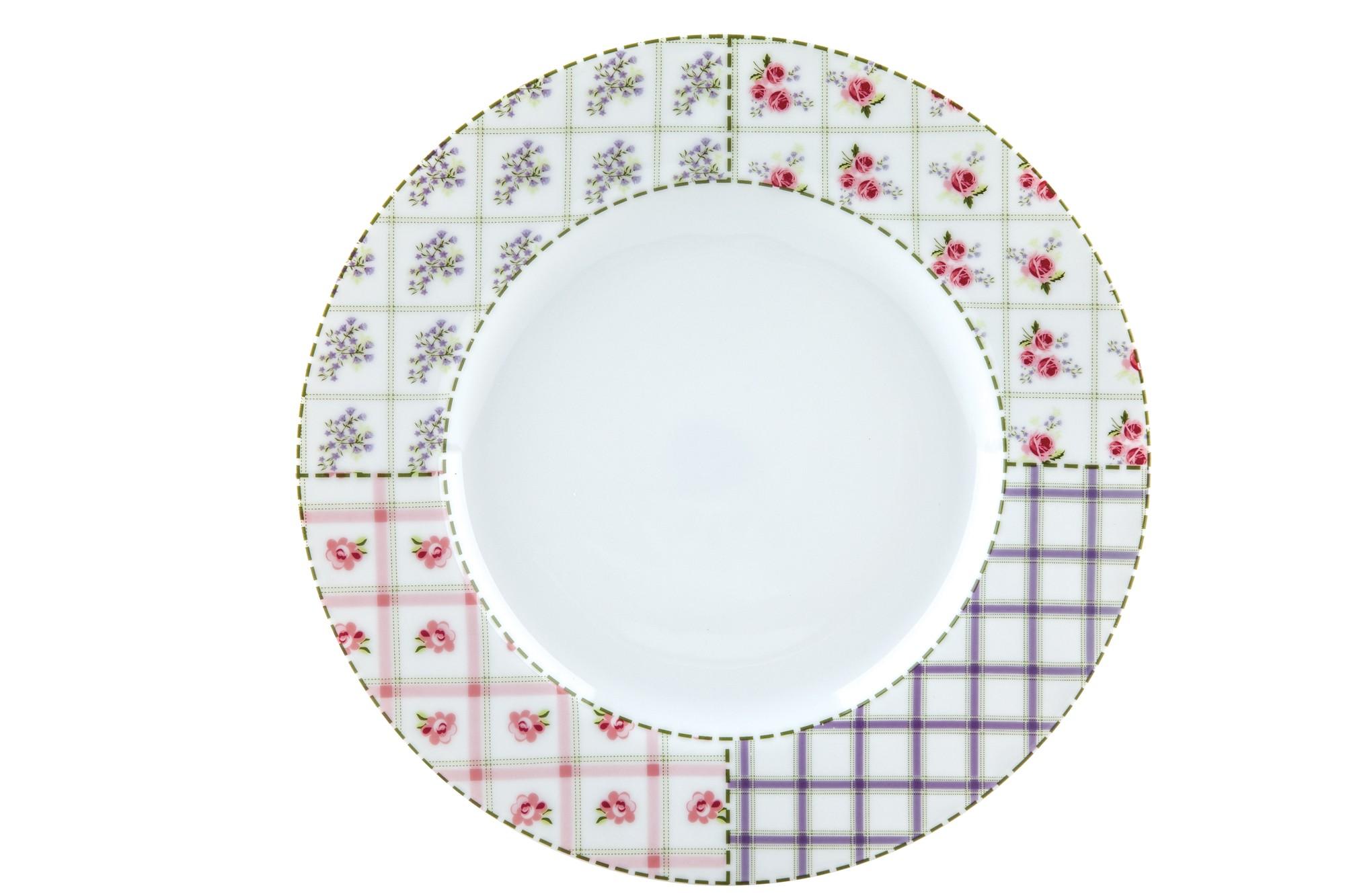 Πιάτο Ρηχό Σετ 6Τμχ Patchwork 26,5cm Ionia home   ειδη σερβιρισματος   πιάτα