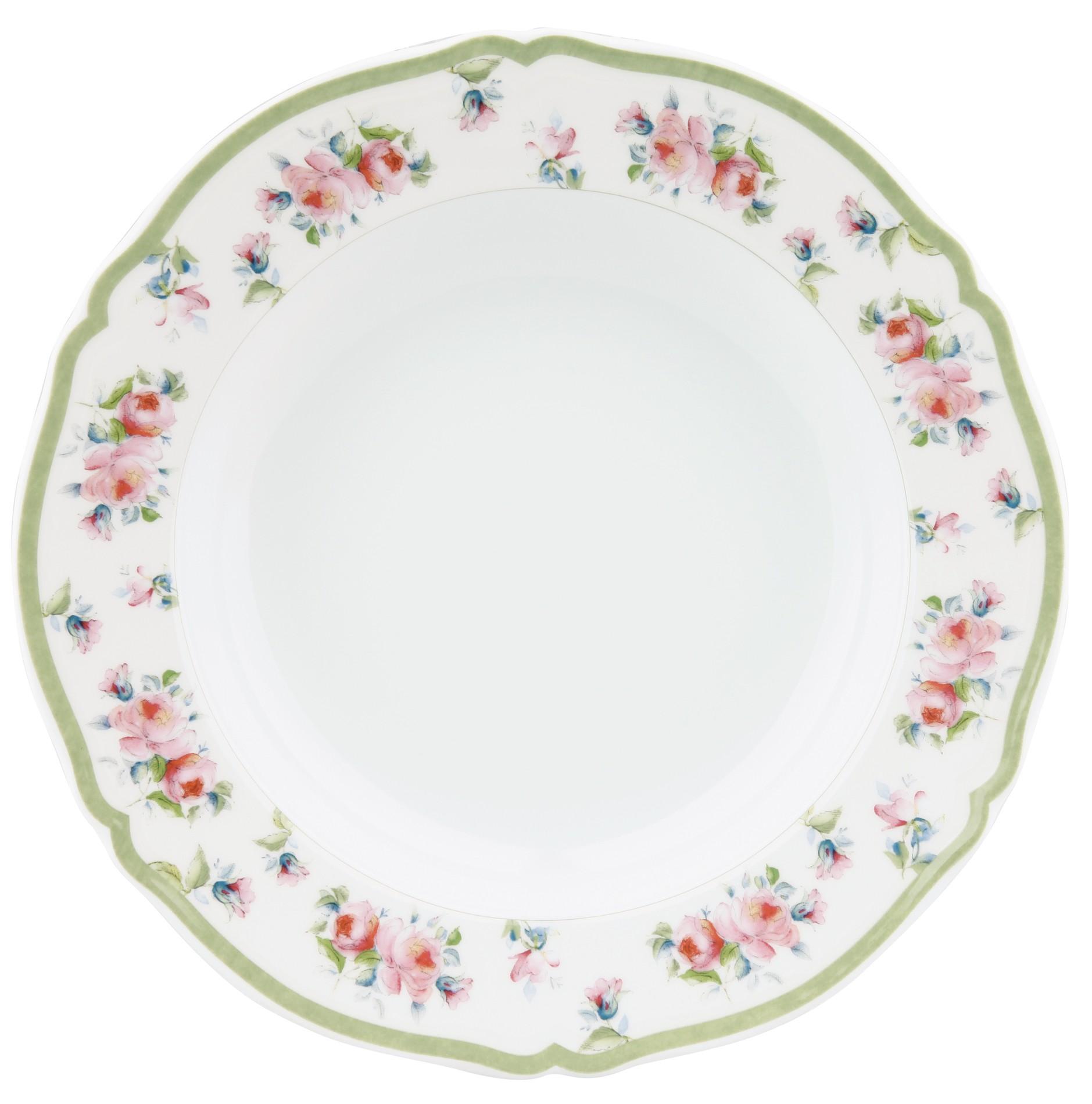 Πιάτο Βαθύ Στρογγυλό Σετ 6Τμχ Romantica 23,5cm Ionia home   ειδη σερβιρισματος   πιάτα