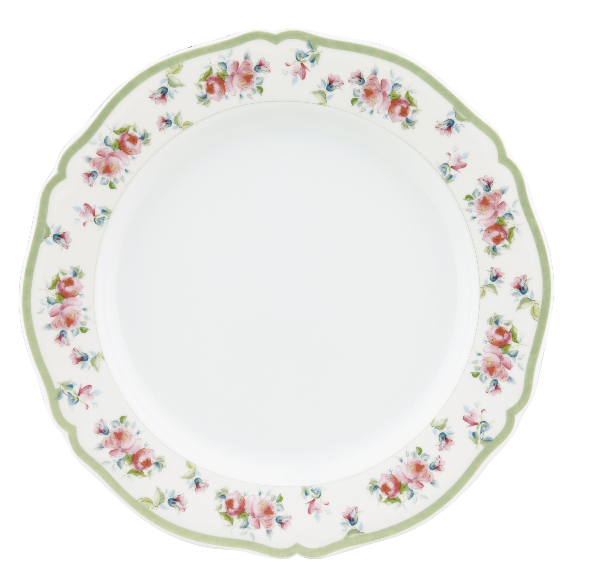 Πιάτο Ρηχό Στρογγυλό Σετ 6Τμχ Romantica 26,6cm Ionia home   ειδη σερβιρισματος   πιάτα