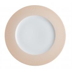 Πιάτο Ρηχό Σετ 6Τμχ Punto Orange 27cm Ionia