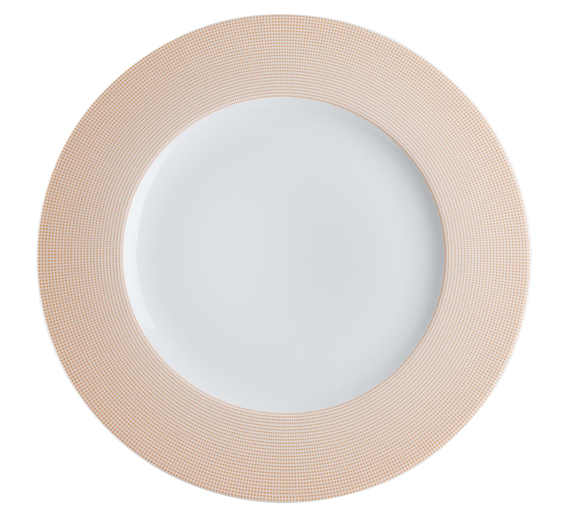 Πιάτο Ρηχό Σετ 6Τμχ Punto Orange 27cm Ionia home   ειδη σερβιρισματος   πιάτα