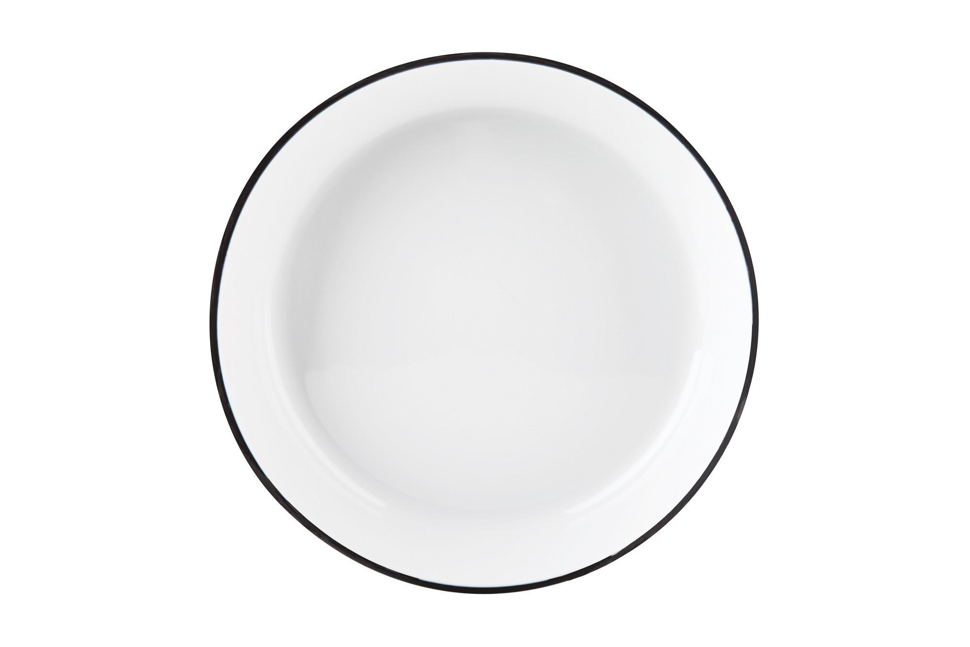 Πιάτο Βαθύ Σετ 6Τμχ Symetry Black 20cm Ionia home   ειδη σερβιρισματος   πιάτα