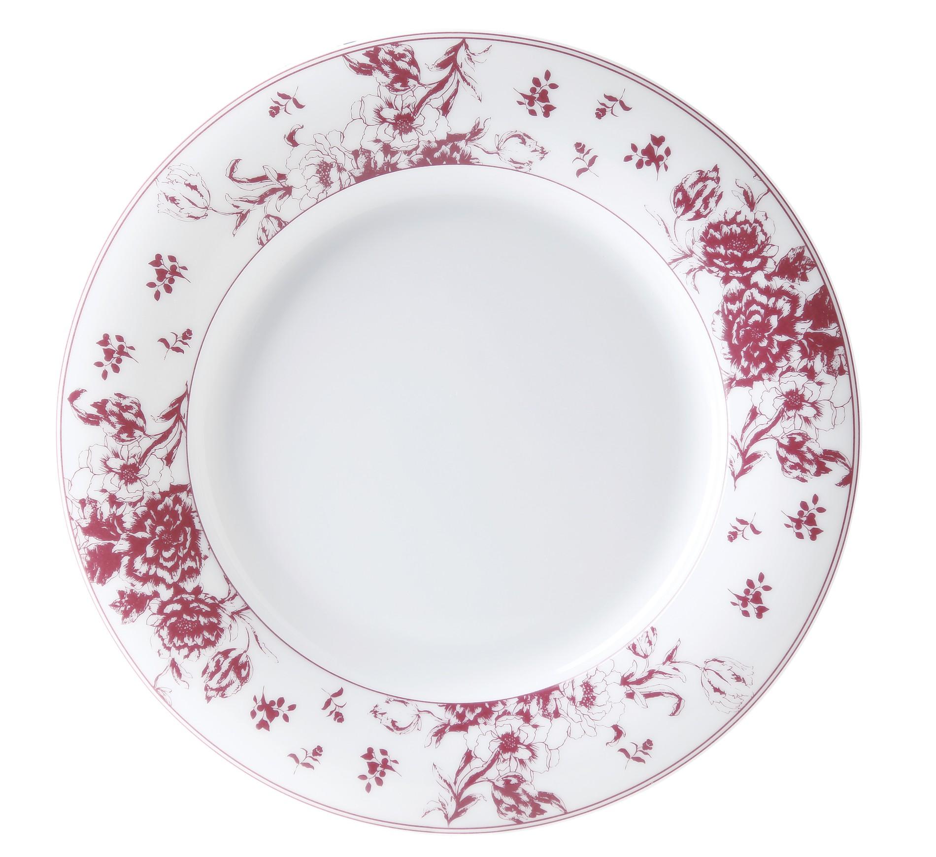 Πιάτο Ρηχό Λουλούδι Σετ 6Τμχ Εξοχή 27cm Ionia home   ειδη σερβιρισματος   πιάτα