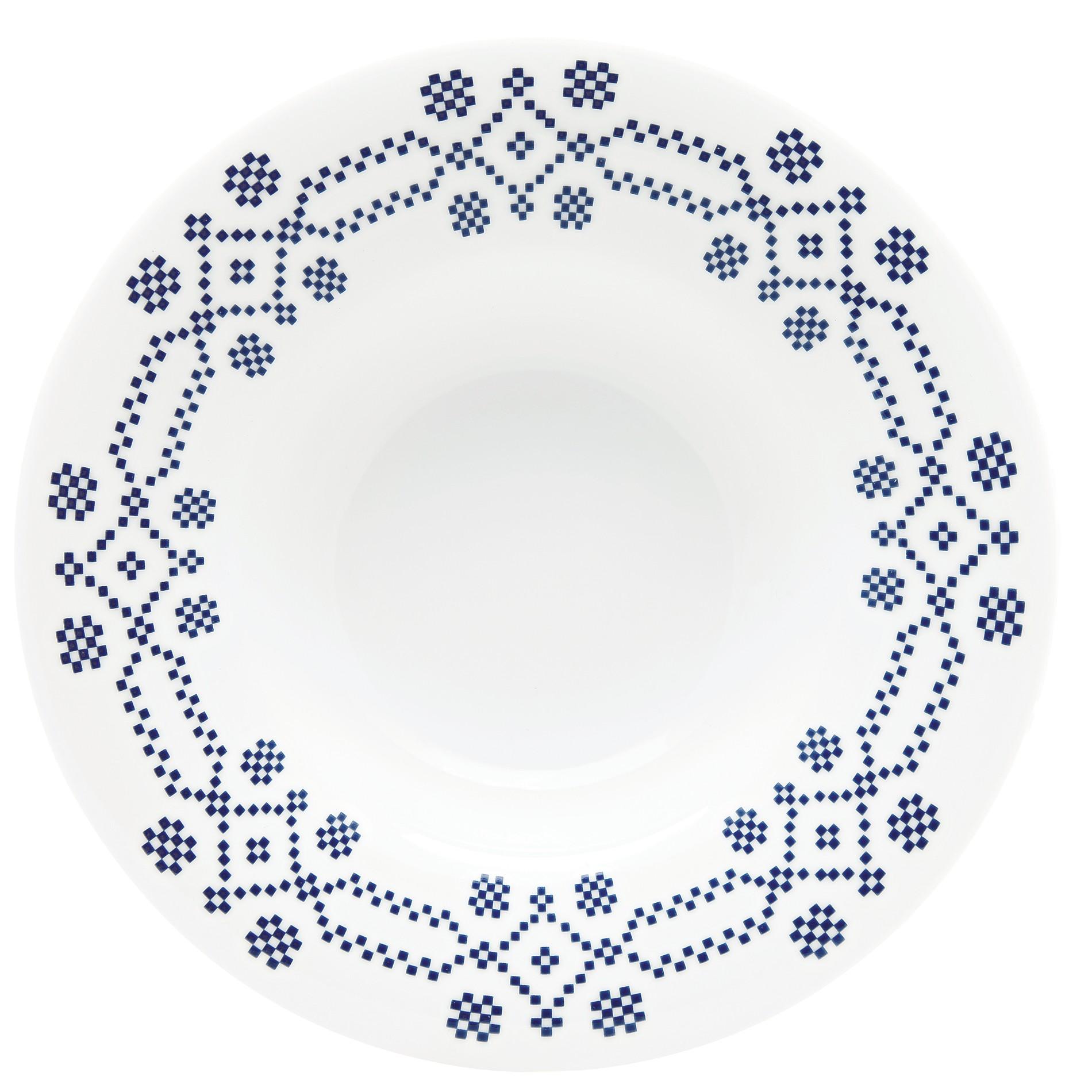 Πιάτο Βαθύ Σετ 6Τμχ Kythera 23cm Ionia home   ειδη σερβιρισματος   πιάτα