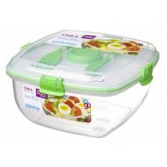 Δοχείο Σαλάτας BPA Free1,1l Λαχανί SISTEMA