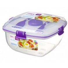 Δοχείο Σαλάτας BPA Free1,1l Μωβ SISTEMA