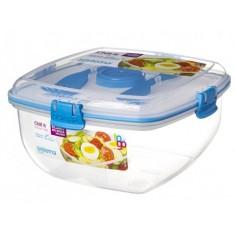 Δοχείο Σαλάτας BPA Free1,1l Μπλε SISTEMA