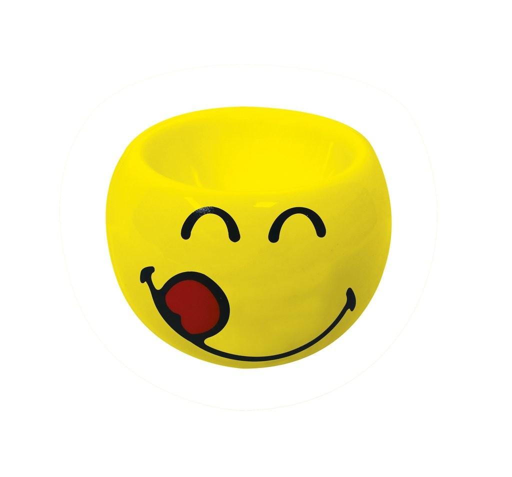 Αυγοθήκη Smiley Emoticon Yummy 6cm Zak Designs home   ειδη σερβιρισματος   είδη bebe