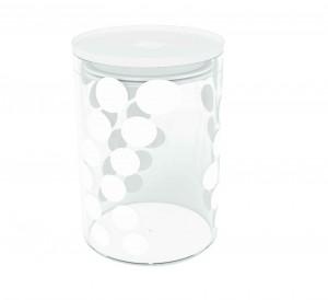 Δοχείο Αποθύκευσης Zak Designs Dot Dot Κόκκινο 0,90lt home   ειδη cafe τσαϊ   δοχεία καφε   ζάχαρης