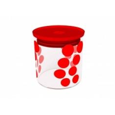 Δοχείο Αποθύκευσης Zak Designs Dot Dot Κόκκινο 0,65lt