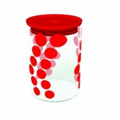 Δοχείο Αποθύκευσης Zak Designs Dot Dot Κόκκινο 1.1lt