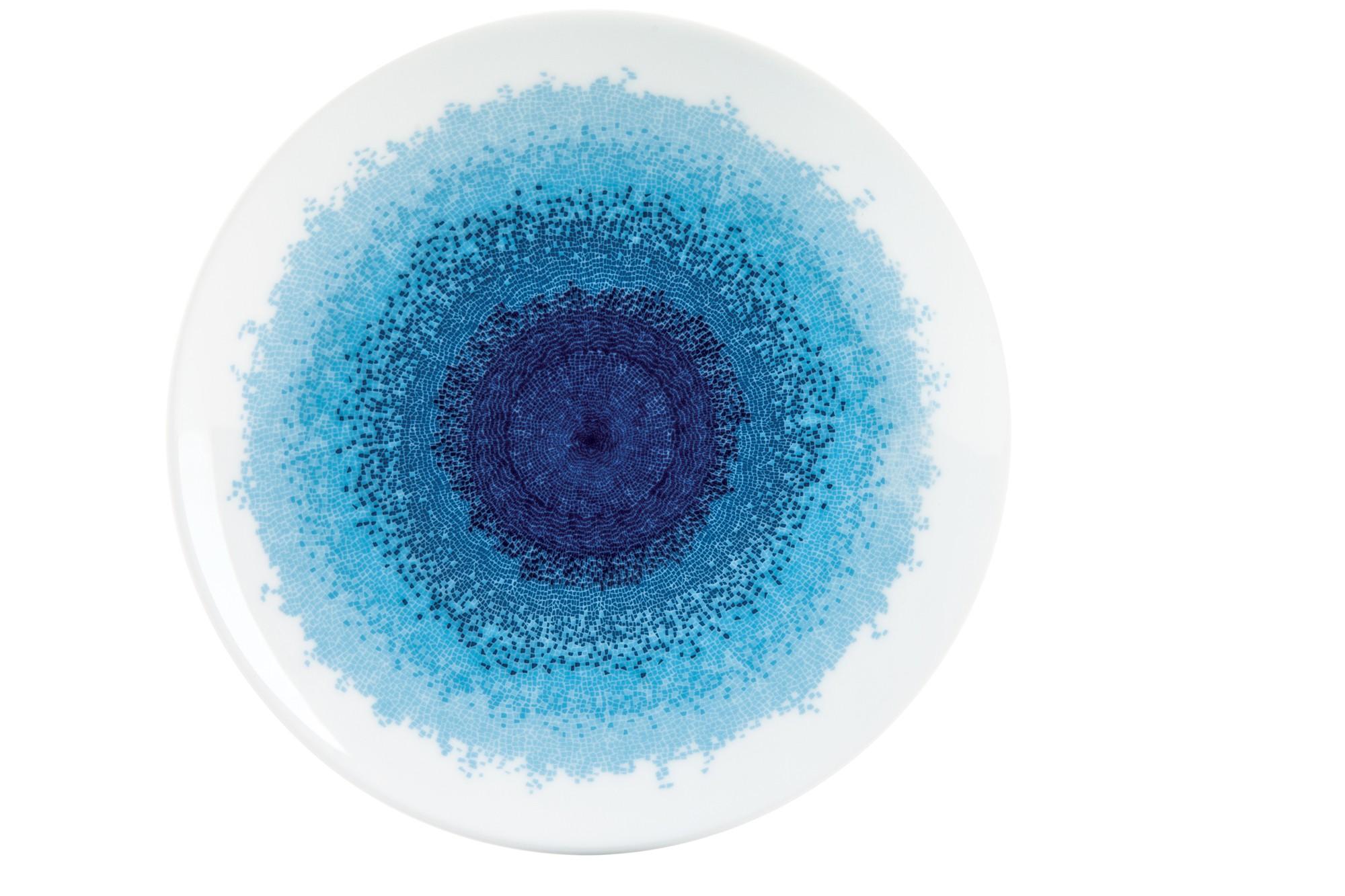 Πιάτο Φρούτου Σετ 6Τμχ Apeiron Blue 20.5cm Ionia home   ειδη σερβιρισματος   πιάτα