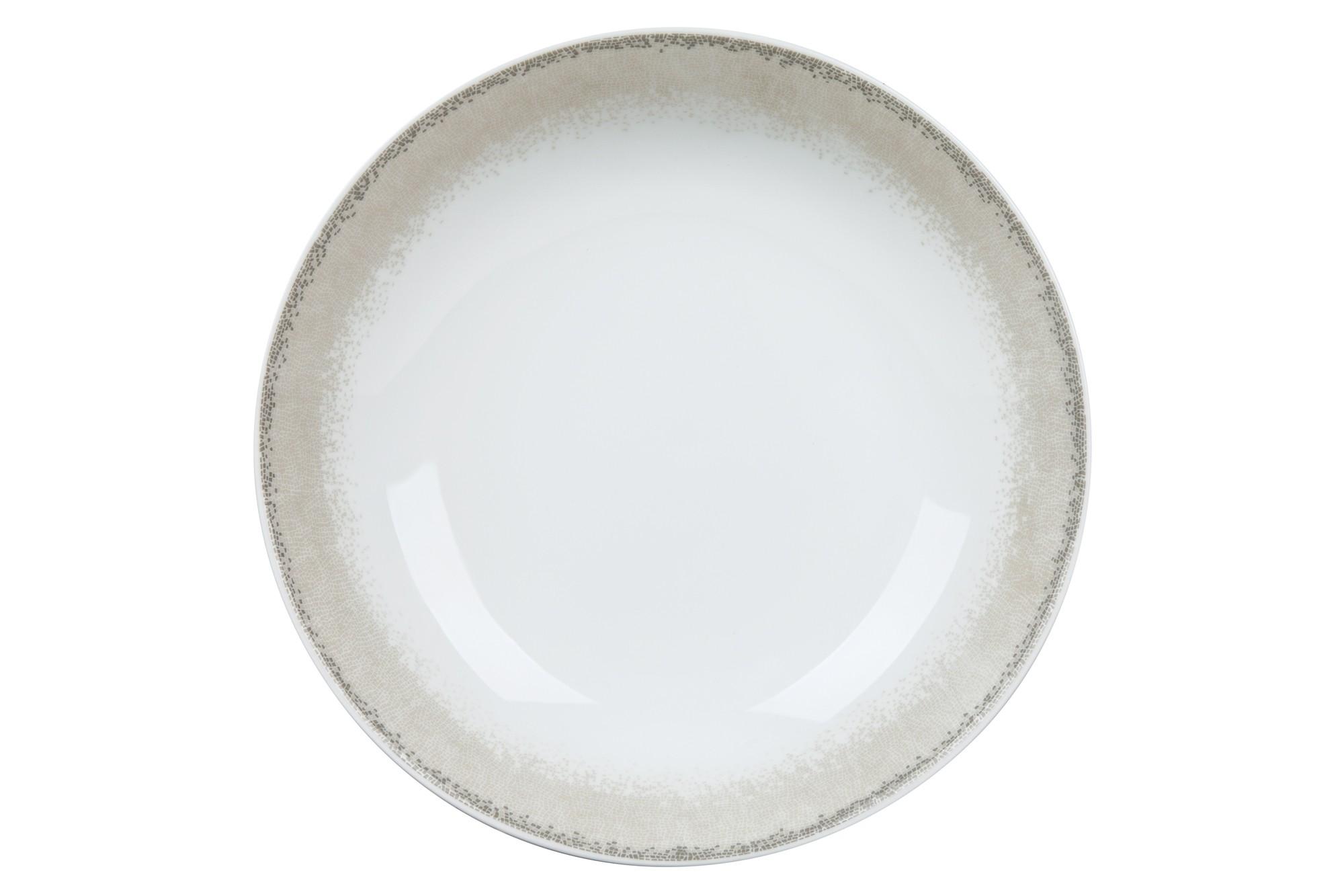 Πιάτο Βαθύ Σετ 6Τμχ Apeiron Beige 21.5cm Ionia home   ειδη σερβιρισματος   πιάτα