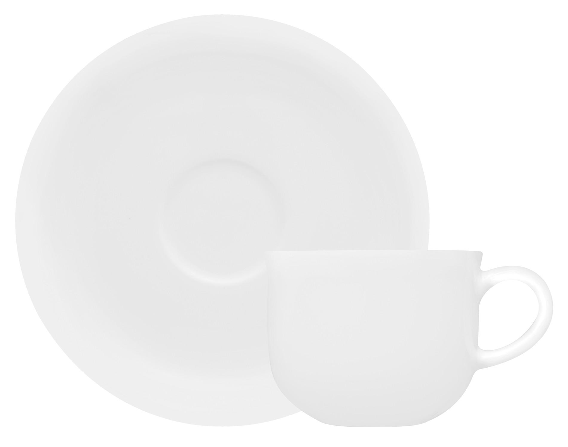 Φλυτζάνι & Πιάτο Καφέ Silk Bone China Σετ 6τμχ Ionia home   ειδη cafe τσαϊ   κούπες   φλυτζάνια
