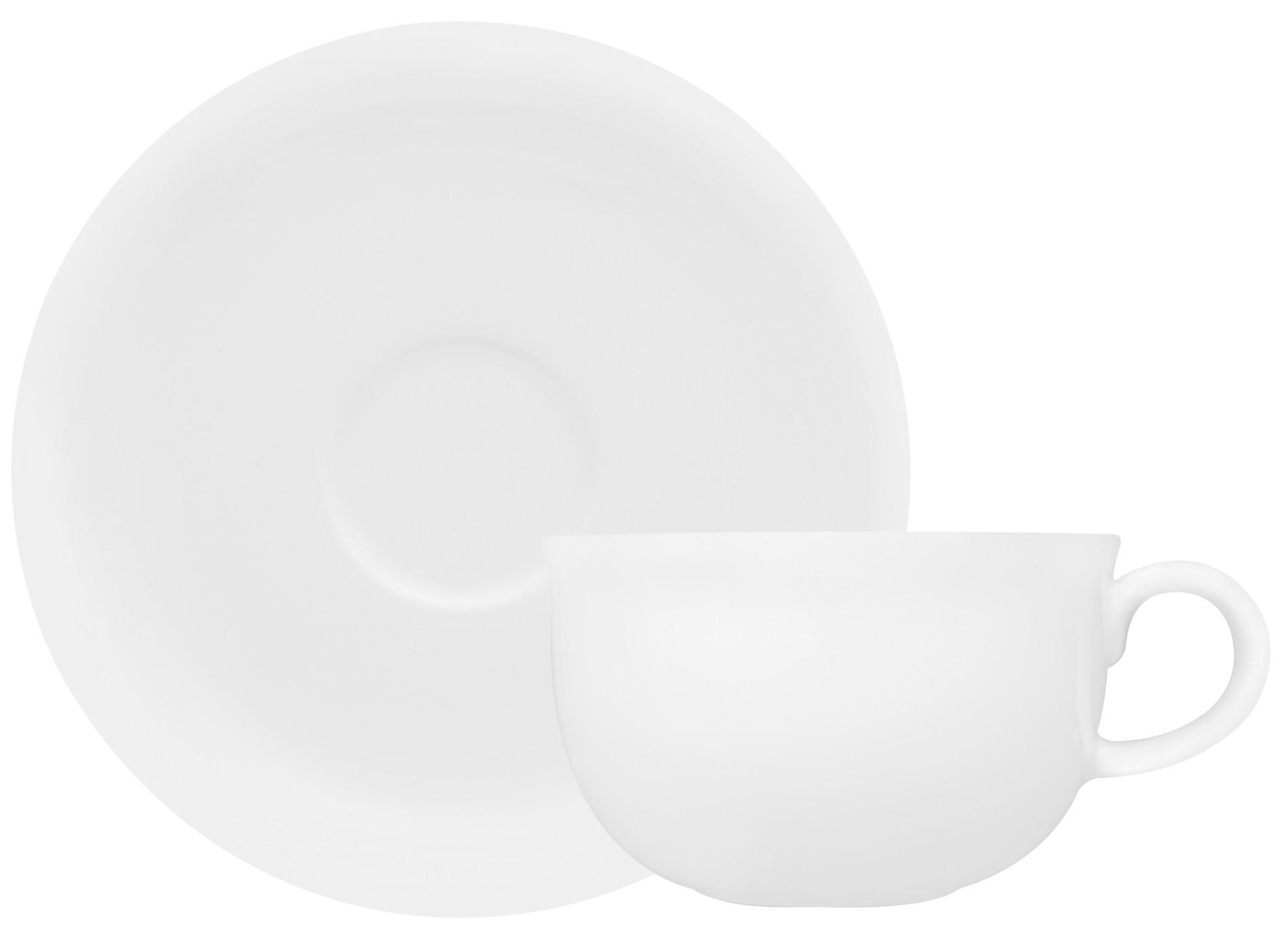 Φλυτζάνι & Πιάτο Τσαγιού Silk Bone China Σετ 6τμχ Ionia home   ειδη cafe τσαϊ   κούπες   φλυτζάνια