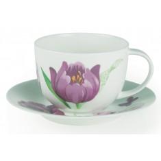 Φλυτζάνι Πρωινού Bone China Tulip