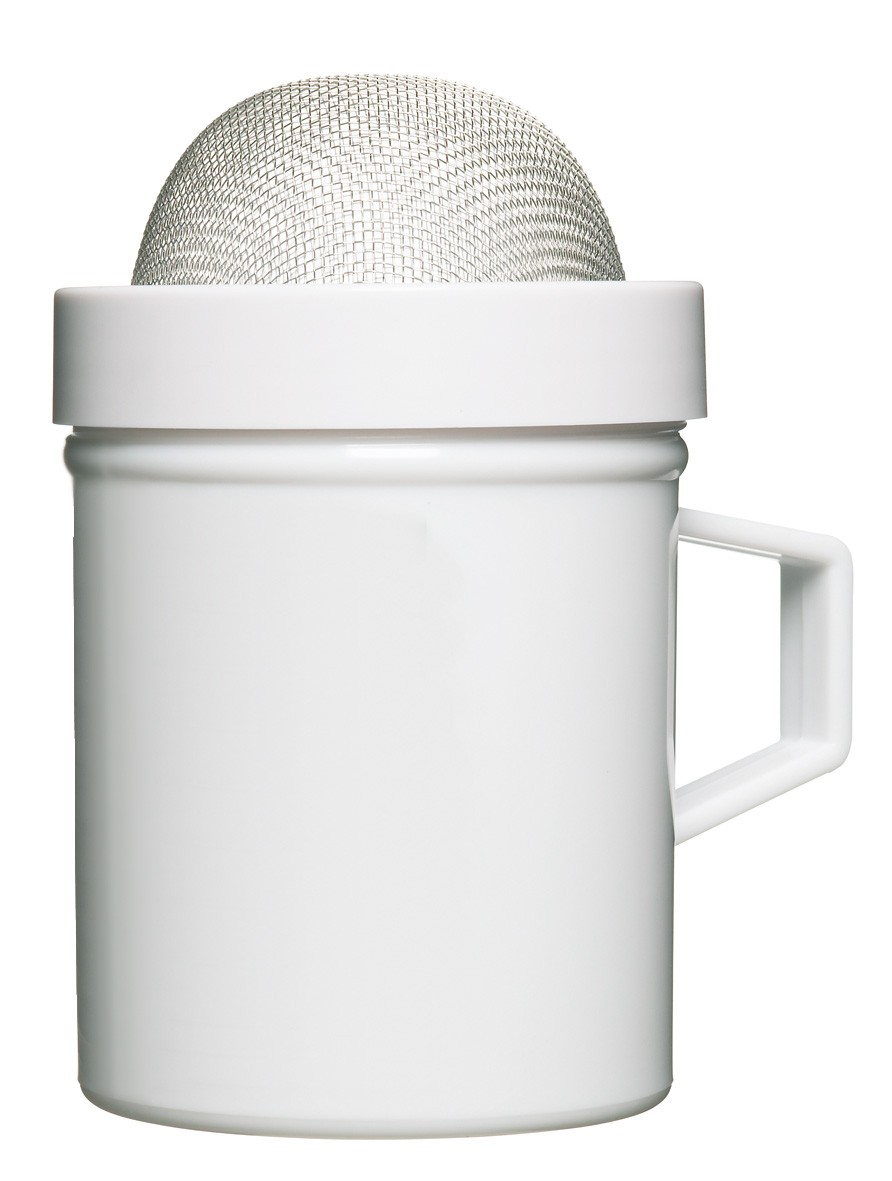 δοχείο άχνης ζάχαρης kitchencraft home   ζαχαροπλαστικη   εργαλεία ζαχαροπλαστικής