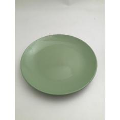 Πιάτο Ρηχό Happy Ware Πορσελάνης Πράσινο Alfa 21cm