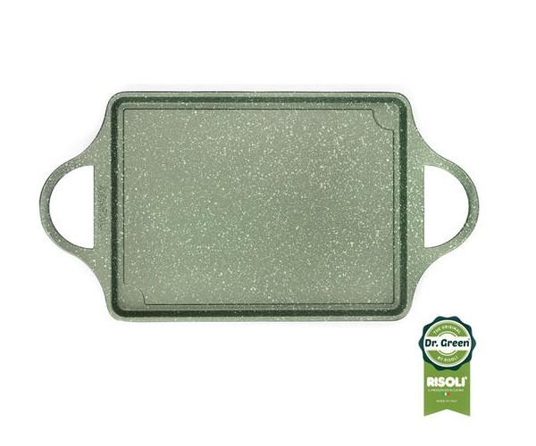 Επιφάνεια Ψησίματος Dr. Green Χυτού Αλουμινίου 46x25cm Risoli home   σκευη μαγειρικης   γκριλιέρες