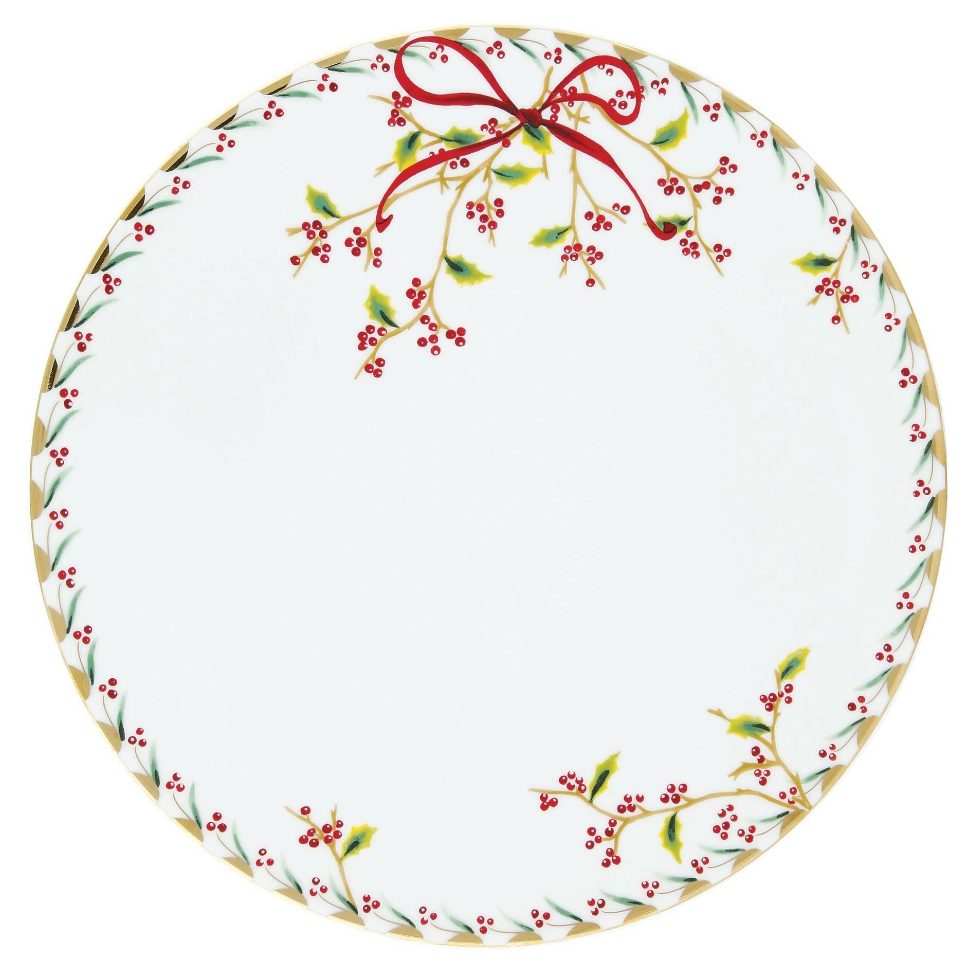 Πιάτο Ρηχό Στρογγυλό Noel 28cm Ionia home   ειδη σερβιρισματος   πιάτα
