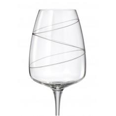 Ποτήρι Λευκού Κρασιού Σετ 6 Τμχ Κρυστάλλινο Bohemia Alizee 440ml