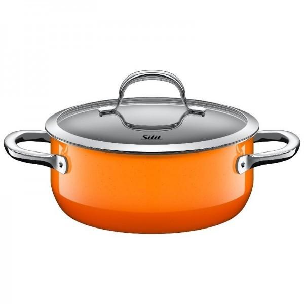 Ημίχυτρα Silit 20cm Passion Orange home   σκευη μαγειρικης   κατσαρόλες χύτρες