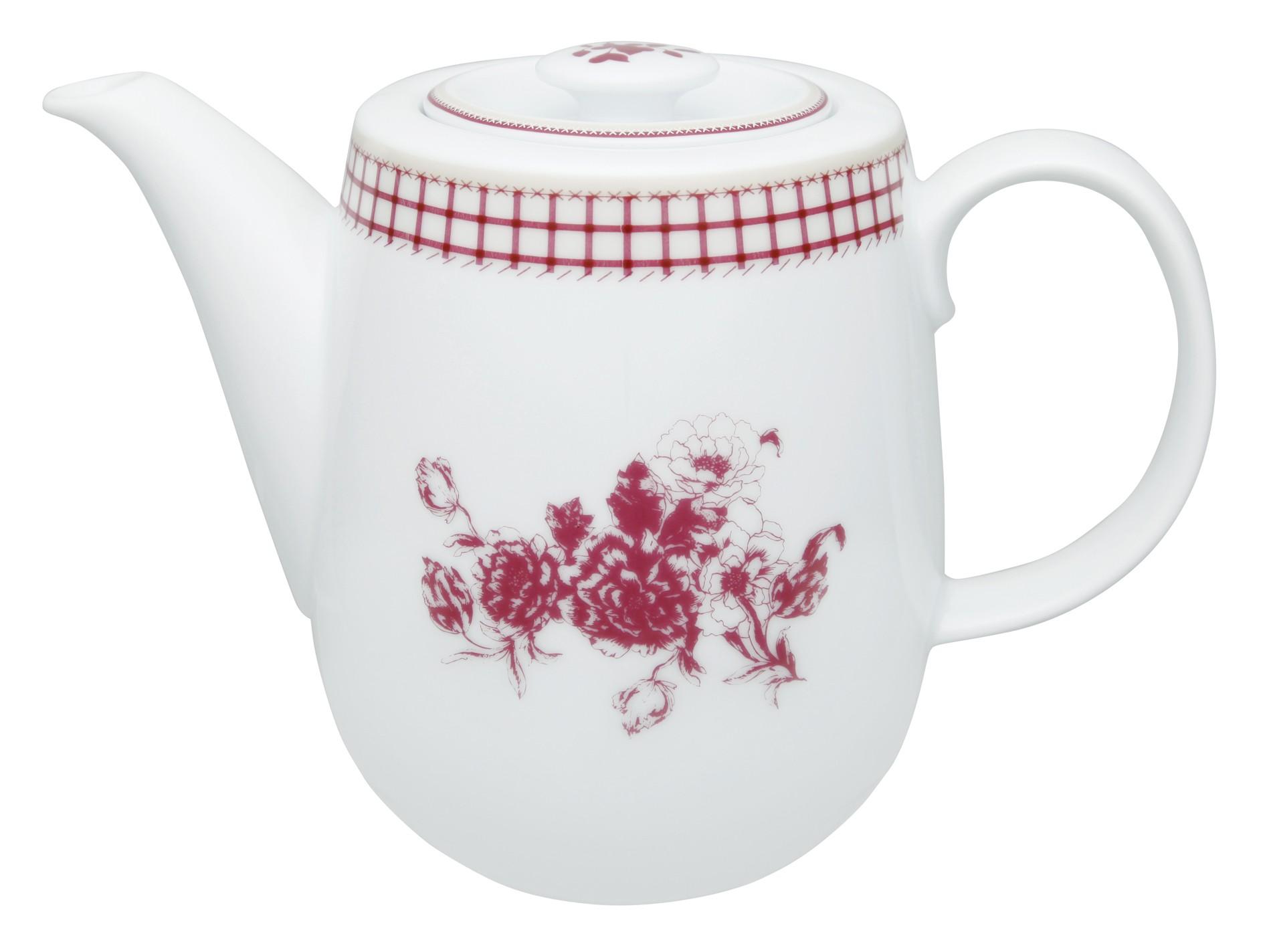 Τσαγιέρα Πορσελάνης Εξοχή Ionia 1,1lt home   ειδη cafe τσαϊ   τσαγιέρες
