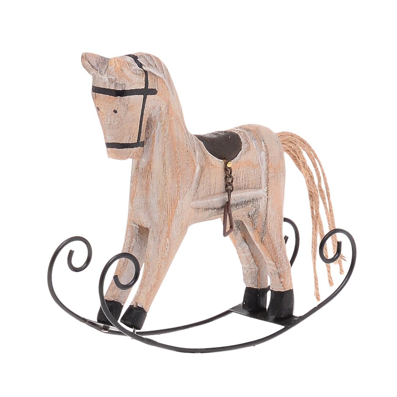 Ξύλινο Διακοσμητικό Αλογάκι Carousel home   χριστουγεννιατικα
