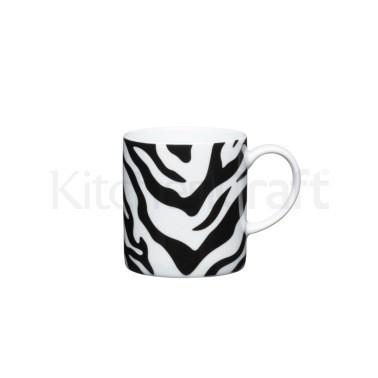 Φλυτζάνι Πορσελάνης Espresso Zebra Prind Kitchencraft home   ειδη cafe τσαϊ   κούπες   φλυτζάνια