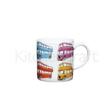 Φλυτζάνι Πορσελάνης Espresso London Bus Kitchencraft home   ειδη cafe τσαϊ   κούπες   φλυτζάνια
