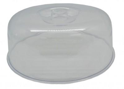 Καπάκι Τουρτιέρας Πλαστικό Διάφανο 25,5cm home   ζαχαροπλαστικη   τουρτιέρα   θήκες cake