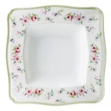 Πιάτο Βαθύ Τετράγωνο Σετ 6Τμχ Romantica 21cm home   ειδη σερβιρισματος   πιάτα