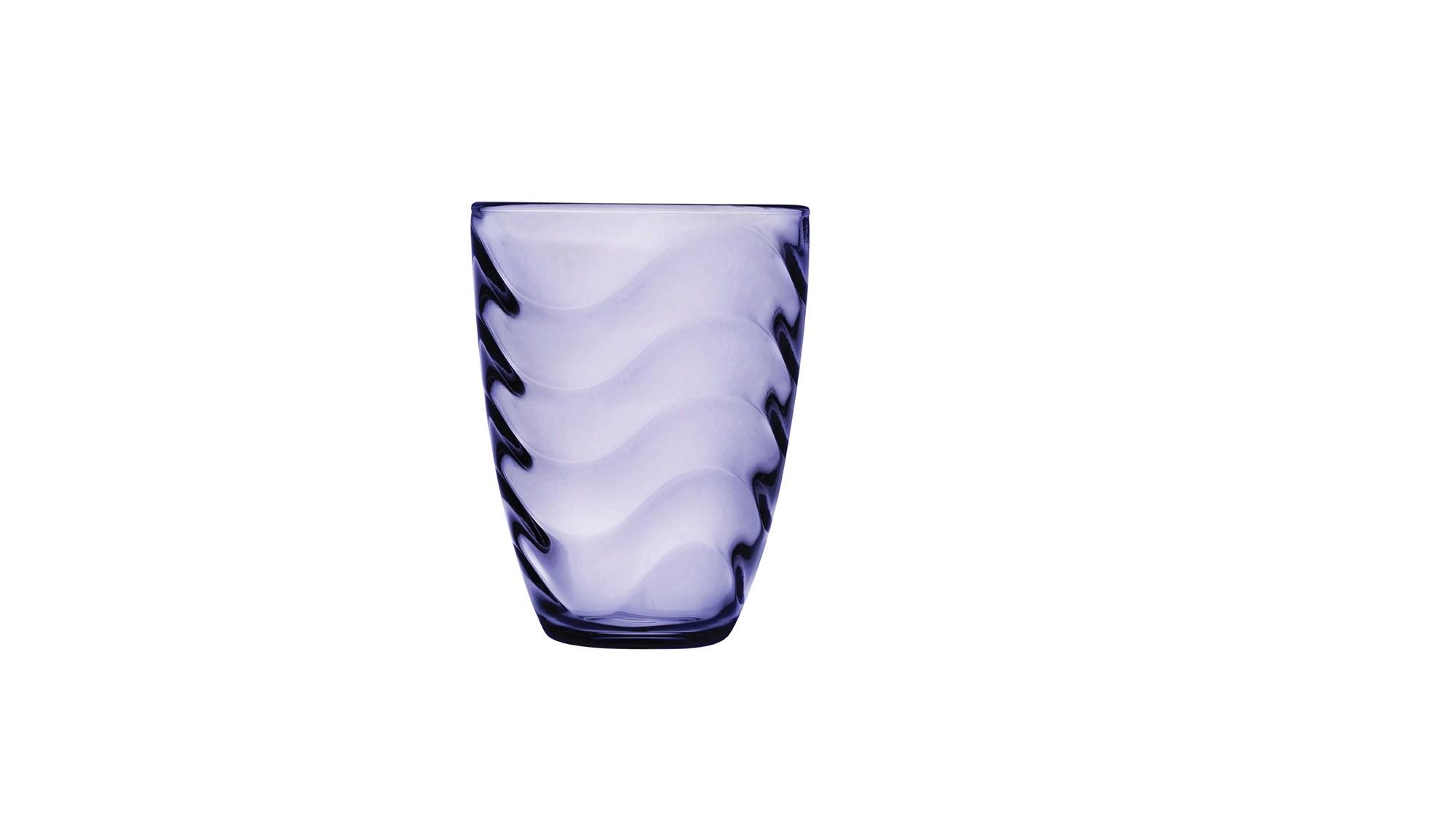 Ποτήρι Νερού - Αναψυκτικού Wave Σετ 6τμχ. 330ml Μωβ Pasabahce home   ειδη σερβιρισματος   ποτήρια