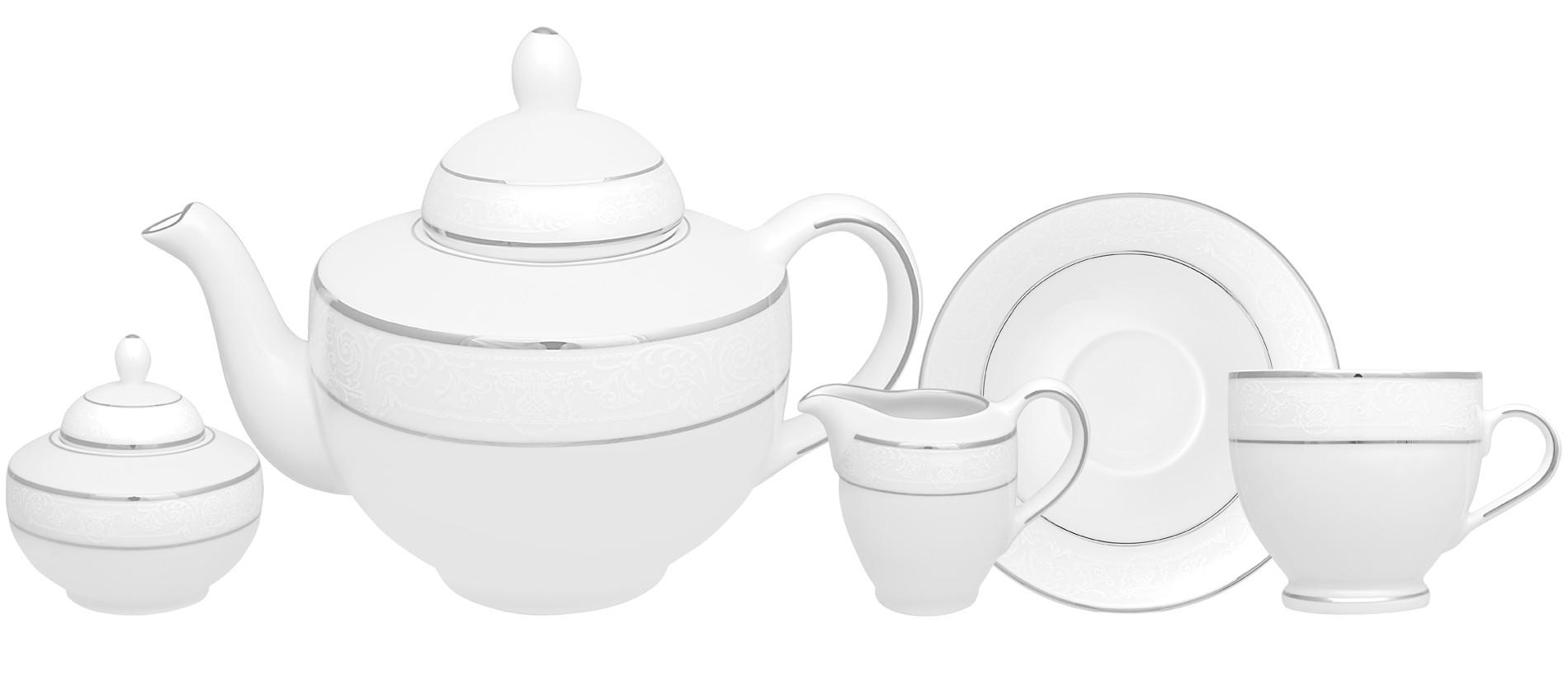 Σετ Τσαγιού Dantelle 9 Τμχ. Ionia home   ειδη cafe τσαϊ   κούπες   φλυτζάνια