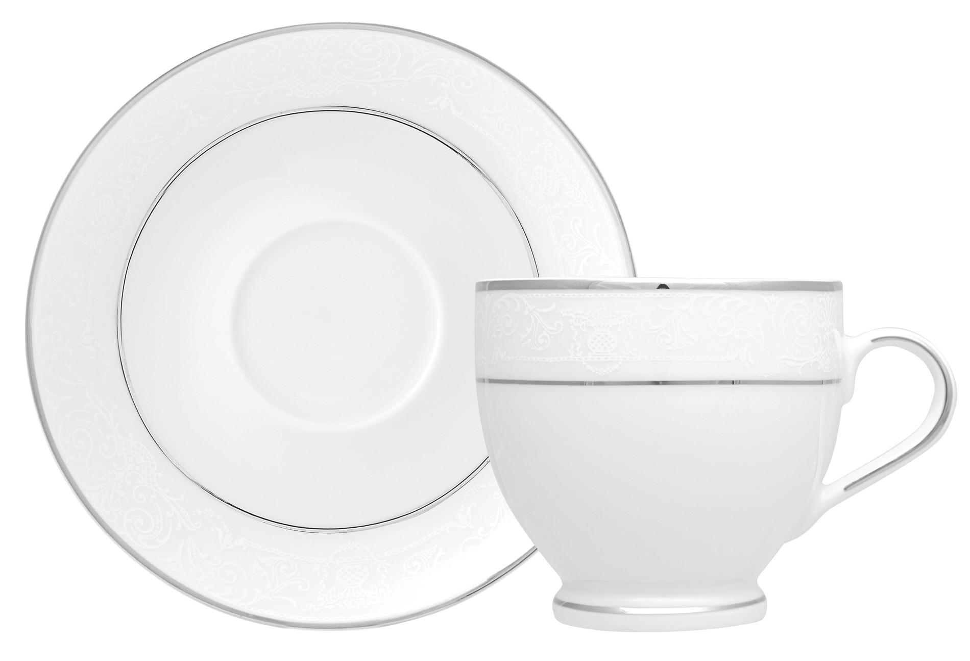 Φλυτζάνι & Πιάτο Καφέ Dantelle Σετ 6τμχ Ionia home   ειδη cafe τσαϊ   κούπες   φλυτζάνια