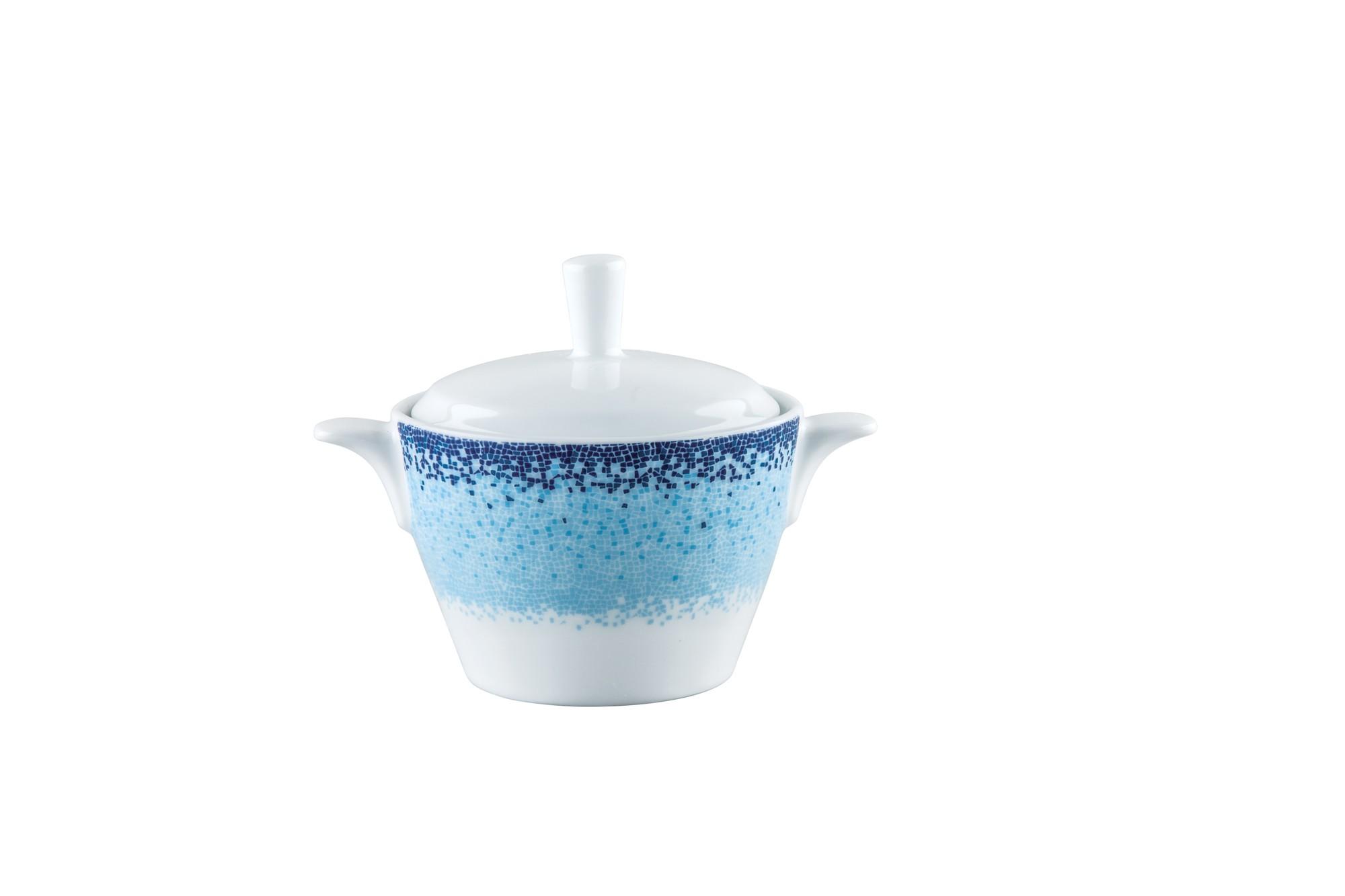 Ζαχαριέρα Πορσελάνης Apeiron Blue Ionia home   ειδη cafe τσαϊ   γαλατιέρες   ζαχαριέρες