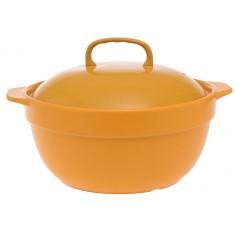 Κατσαρόλα Πυρίμαχη Home Design Κίτρινη