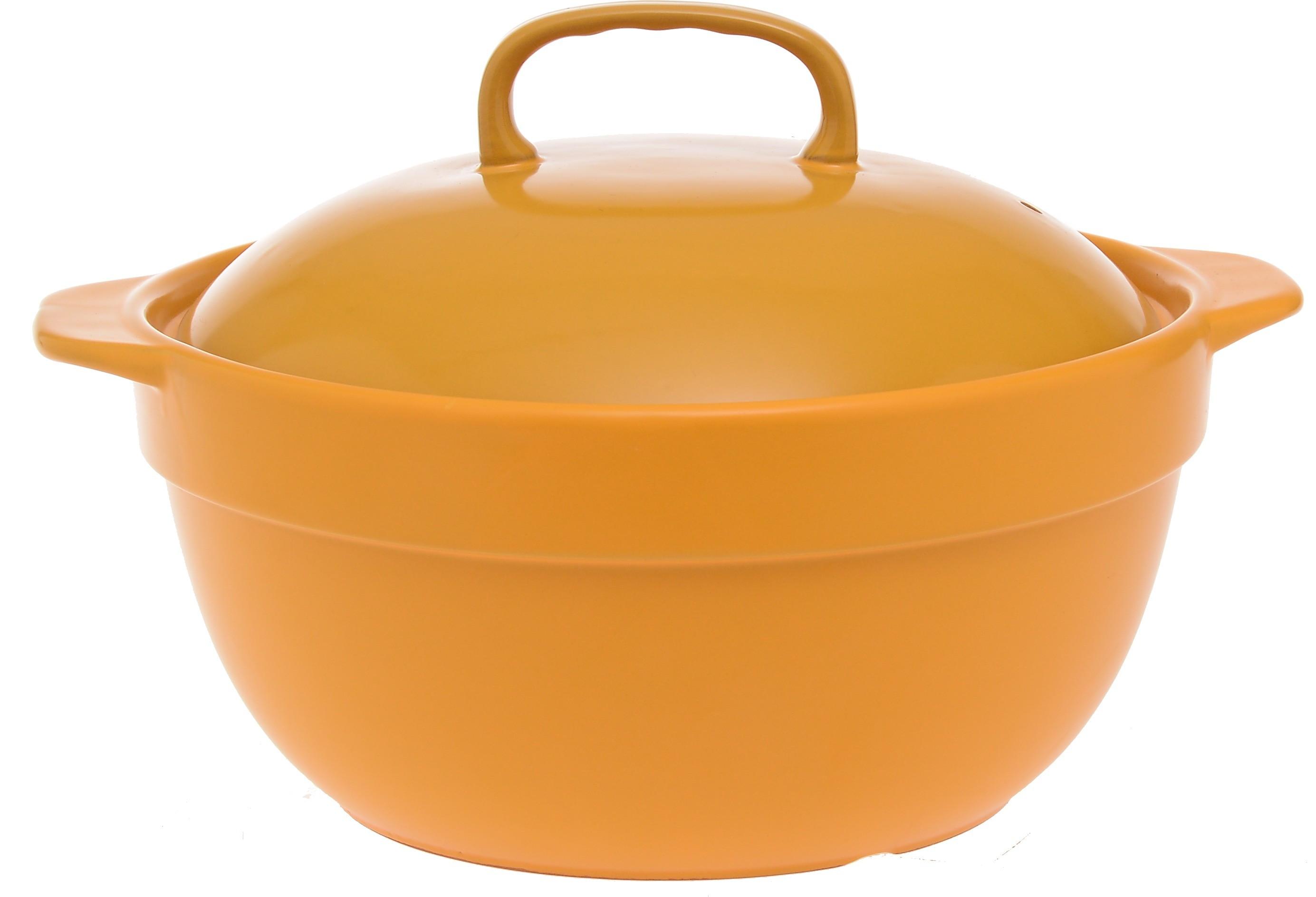 Κατσαρόλα Πυρίμαχη Home Design Κίτρινη home   σκευη μαγειρικης   κατσαρόλες χύτρες