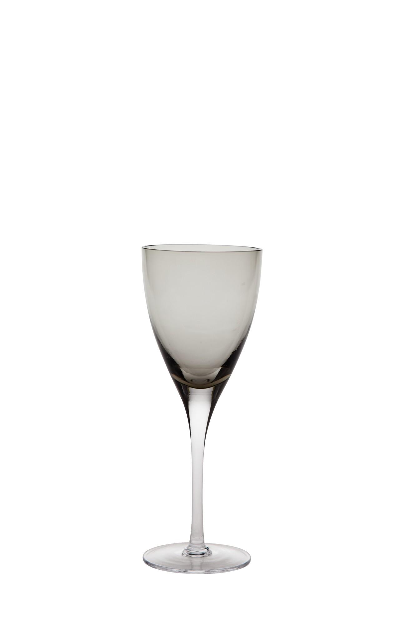 Ποτήρι Κρασιού Paradise Σετ 6Τμχ Smoke 190ml Ionia home   ειδη σερβιρισματος   ποτήρια