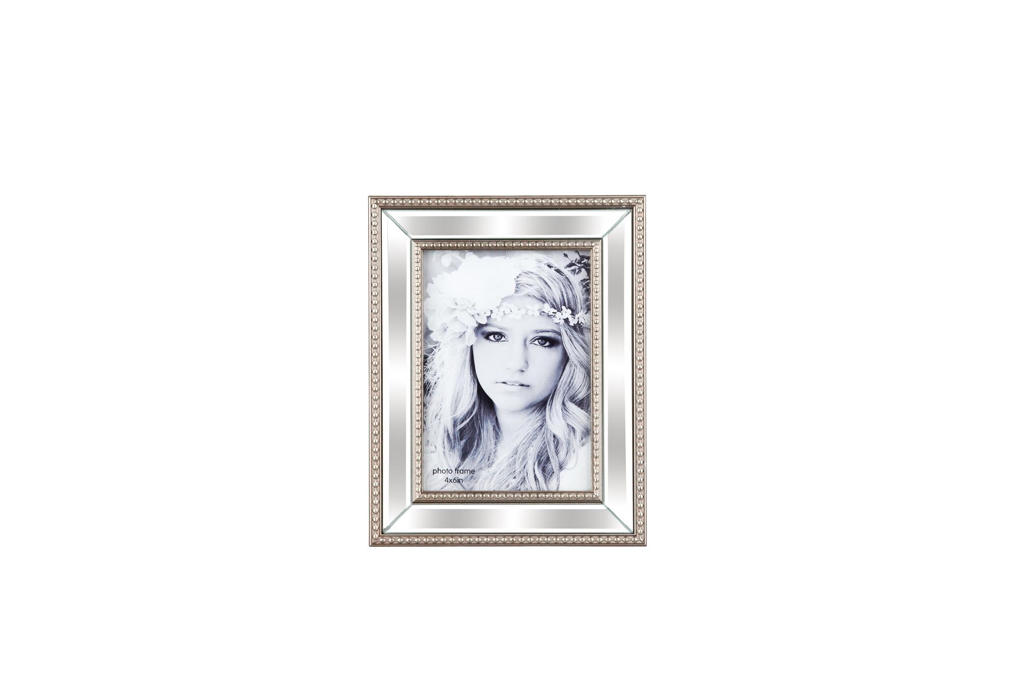 Κορνίζα Ξύλινη Με Καθρέπτη 10X15 Trimar home   κρυσταλλα  διακοσμηση   κορνίζες