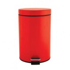 πεντάλ μεταλλικό στρογγυλό 7lit. Κόκκινο