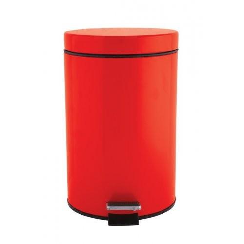 Πεντάλ Μεταλλικό Στρογγυλό 7lit. Κόκκινο home   ειδη μπανιου   πετάλ